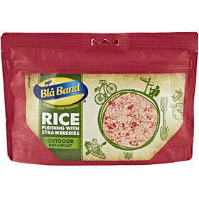 Bla Band Rice Pudding with Strawberries Outdoor Nutrition